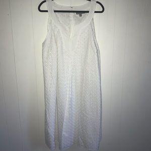 Jessica London Eyelet Dress NWOT